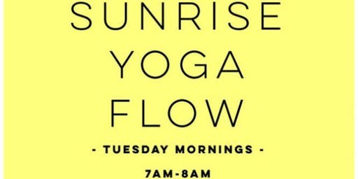 Sunrise Yoga Flow at East Bay Park!