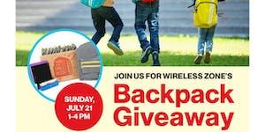 Monroe Verizon Wireless Backpack Give Away