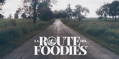 La Route des Foodies© billets