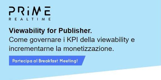 Viewability for Publisher