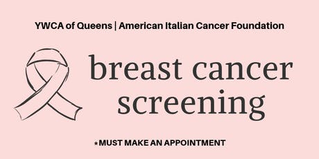 FREE Breast Cancer Screening tickets