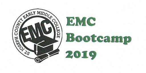 EMC Bootcamp 2019- Aug. 5-8, 2019