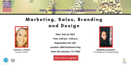 Marketing, Sales, Branding and Design tickets