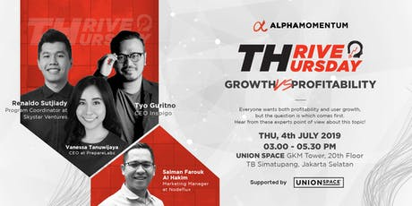 Thrive Thursday   Seminar & Startup Talkshow tickets