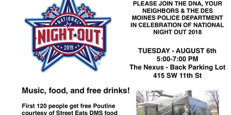 DNA Presents National Night Out Celebration 2019 tickets