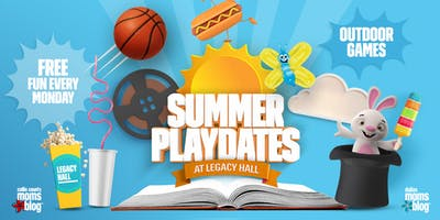 Pepsi Summer Playdates | Free Magic Show by Dal Sanders at Legacy Hal