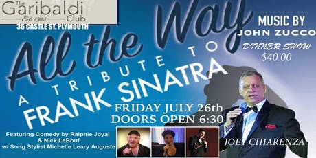 Joey Chiarenza's Tribute to Sinatra tickets
