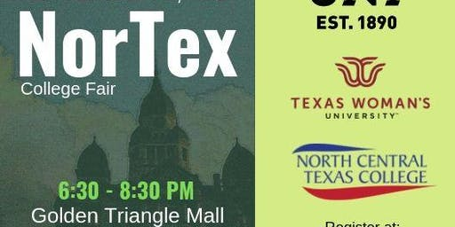 NorTex College Fair 2019 Registration for Colleges and Universities