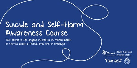 Suicide and Self Harm Awareness Course at the POD tickets