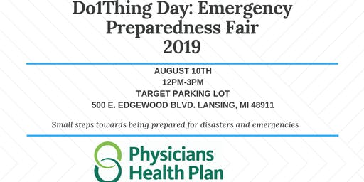 Do1Thing Day-Emergency Preparedness Fair