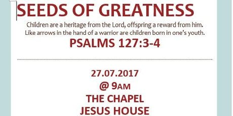 Seeds of Greatness Meeting tickets