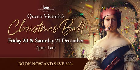 Queen Victoria's Christmas Ball tickets