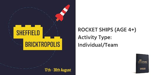 Sheffield Bricktropolis: Rocket Ships (4+)