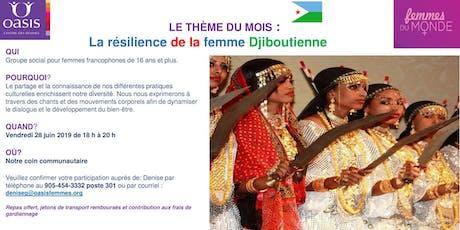 Soirée Femmes du monde - La résilience de la femme djiboutienne tickets