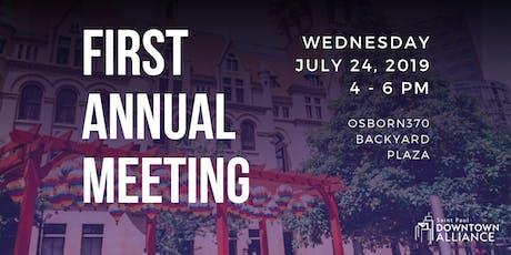 Saint Paul Downtown Alliance Annual Meeting tickets