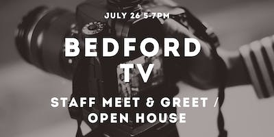 Bedford TV Staff Meet & Greet / Open House