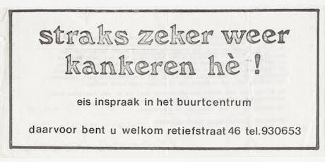 Dwars door het Archief: Buurthuizen tickets