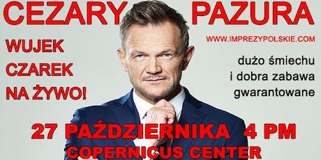 CEZARY PAZURA Wujek Czarek na zywo tickets