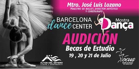 Audición Barcelona entradas