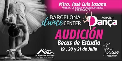 Audición Barcelona