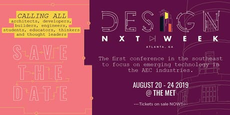 Design NXT Week 2019 tickets