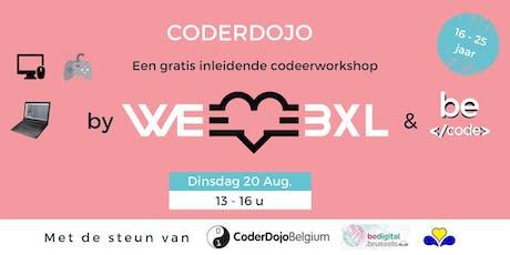 CoderDojo [NL] @WeLoveBXL billets