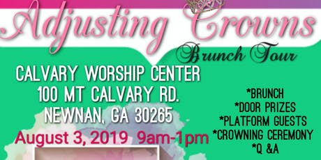 Adjusting Crowns Brunch Tour tickets