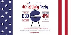 Dems Abroad July 4th BBQ@Bison Bar (next to the...