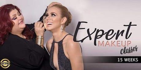 Expert Makeup Classes · Trujillo Alto tickets