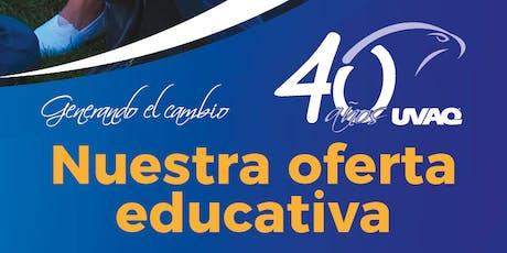 Sesión informativa licenciaturas y posgrados entradas