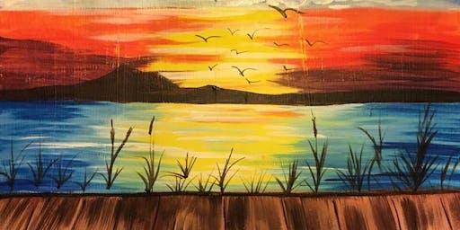 Art With A Heart - Summer Sunset