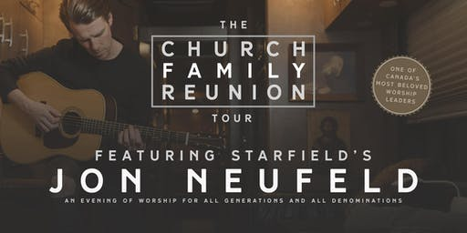 Jon Neufeld of STARFIELD - The Church Family Reunion Tour - Terrace, BC