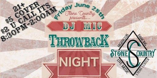 DJ Mic Returns to Stone Country