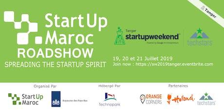 Startup Weekend Tanger 2019 tickets