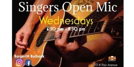 Singers Open Mic Night tickets