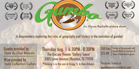 GUMBO, a Documentary by Alyssa Rachelle tickets
