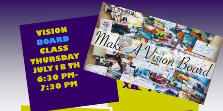 Vision Board Class tickets
