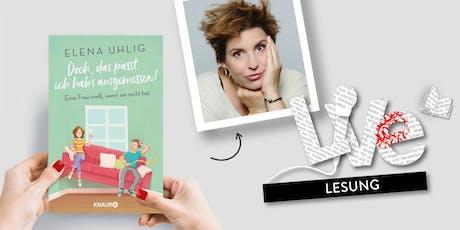 LESUNG: Elena Uhlig Tickets