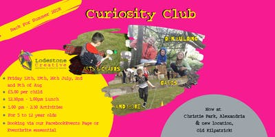 Summer Curiosity Club: Old Kilpatrick