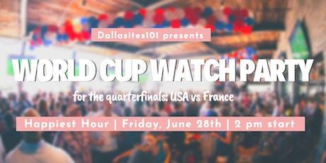 World Cup Watch Party: Quarterfinals tickets