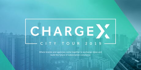 ChargeX: New York - 8/27/19 tickets