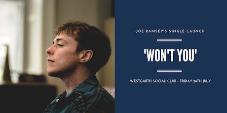 Joe Ramsey @ Westgarth Social Club, Middlesbrough tickets
