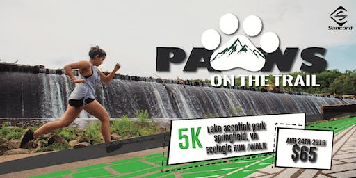 5K Paws on the Trail