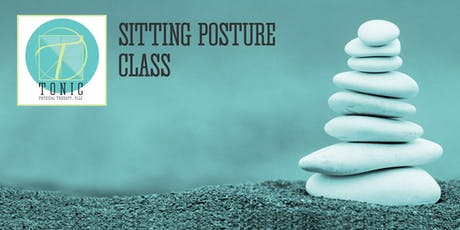 Tonic PT Mindful Body 4 Class Series: September 2019 Sitting Posture tickets