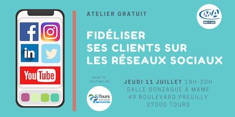 Atelier Numérique : Fidéliser ses clients sur les réseaux sociaux ! billets