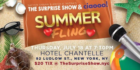 The Surprise Show & Ciaooo's SUMMER FLING tickets