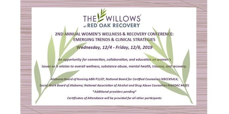 2nd Annual Women's Wellness & Recovery Conference: Emerging Trends & Clinical Strategies tickets
