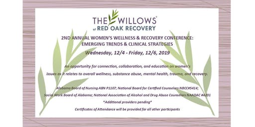 2nd Annual Women's Wellness & Recovery Conference: Emerging Trends & Clinical Strategies