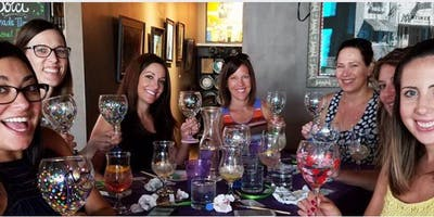 Wine Glass Painting at Bahama Breeze 7/16 @ 5pm
