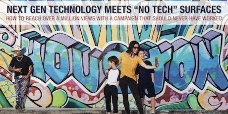 August Speaker Series - Next Gen Technology Meets No Tech Surfaces tickets